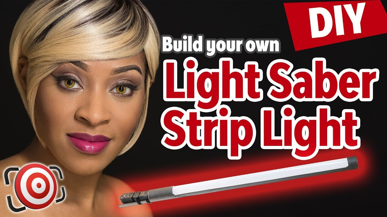 DIY Strip Light Modifier for Speedlights. Strip Light Portrait Photography in Studio or on Location