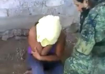 Brutal Tortura de Militares Mexicanos a una Mujer