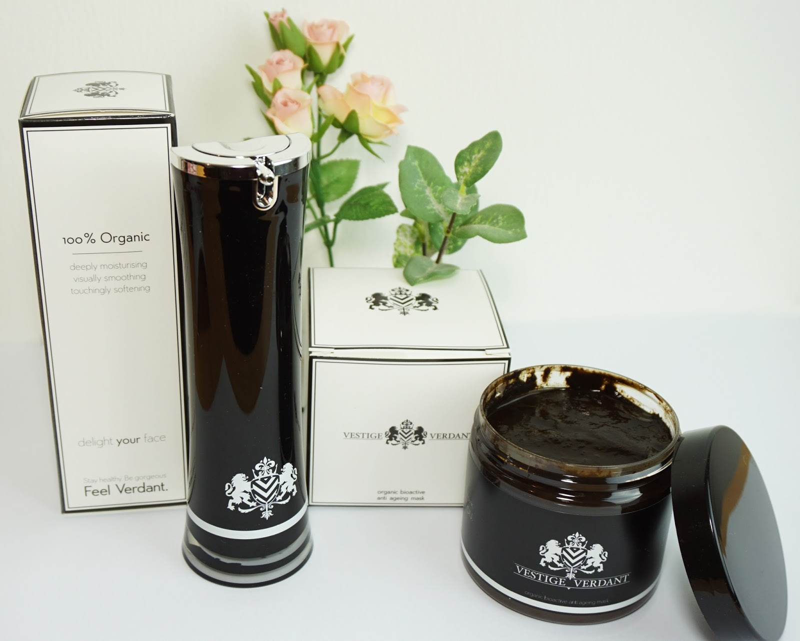 Vestige Verdant - Gesichtsmaske & Gesichtsöl Pretty Clover Beautyblog