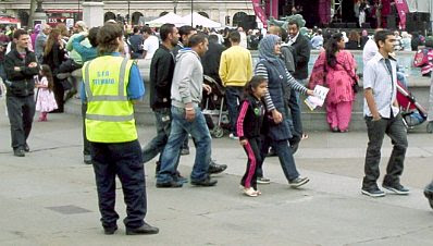 Eid Festival in Trafalgar Square #7