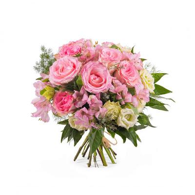 Ramo de novia rosado