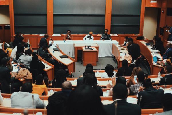 Patoranking-Maleek Berry-Julus Speaks At Harvard Business School