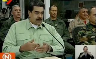 Maduro avisa que vai fechar fronteira da Venezuela com o Brasil