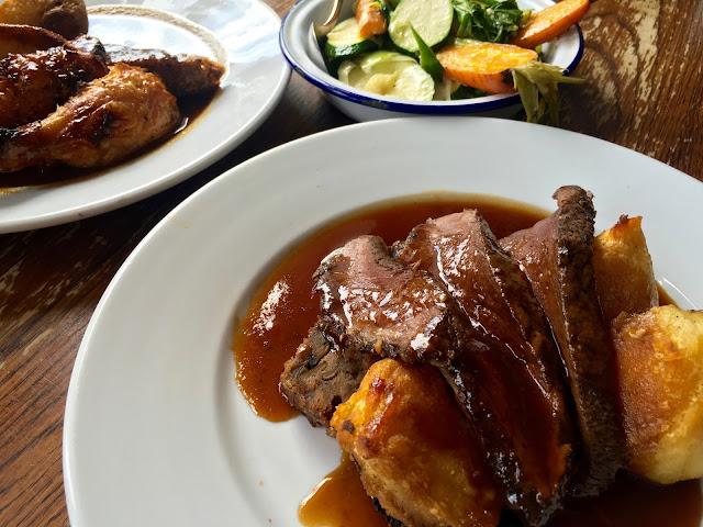 Sunday roast dinner at The Galli in Bristol, Gingey Bites