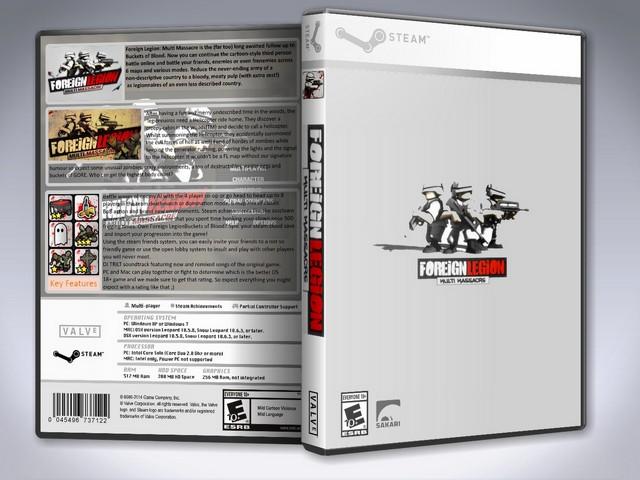 Capa Foreign Legion Multi Massacre PC