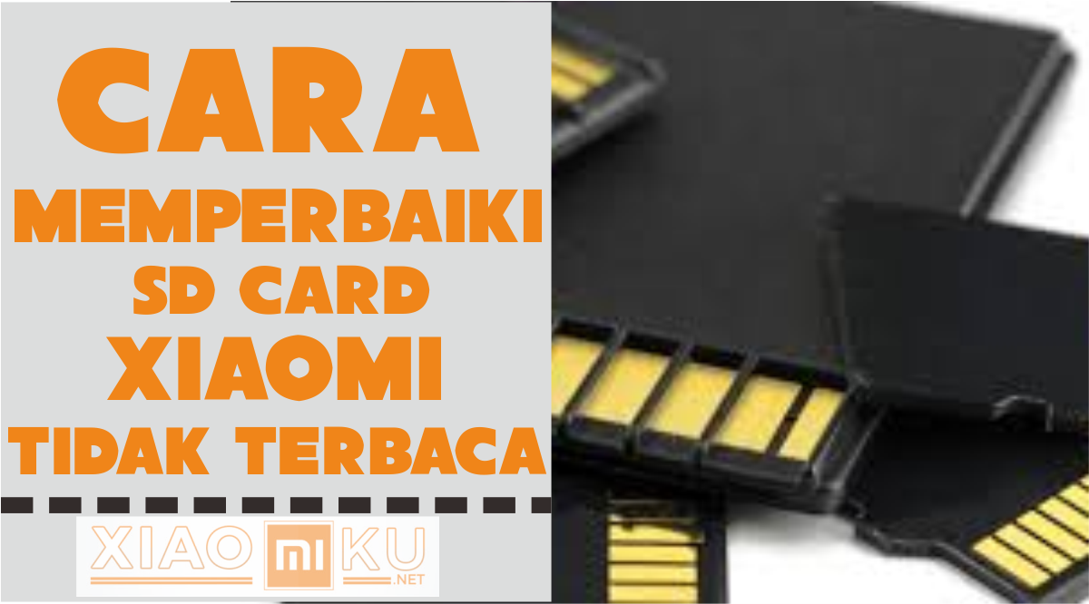 Cara Memperbaiki SD Card Tidak Terbaca Xiaomi Redmi 4 - Miuiku
