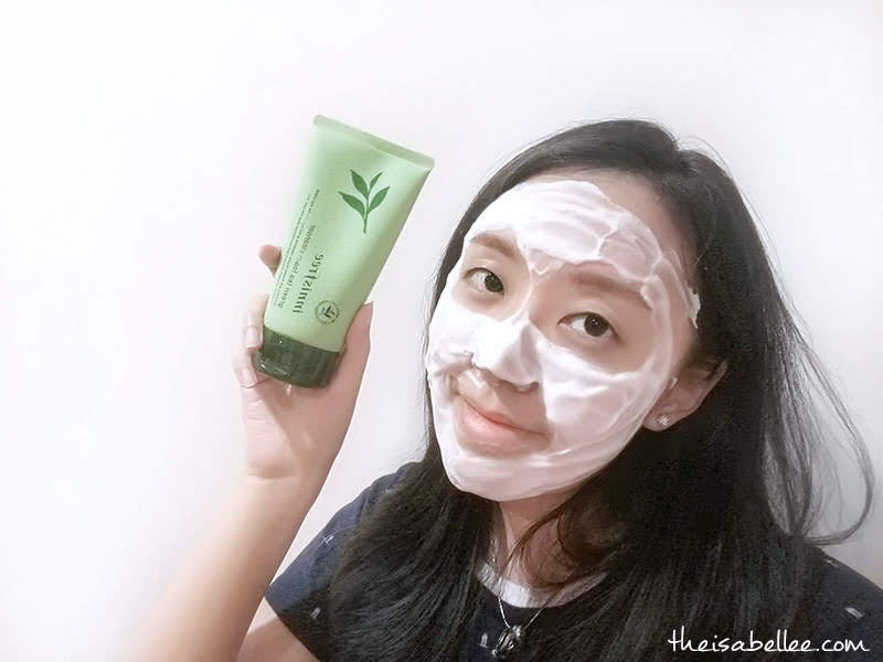 Innisfree Green Tea Foam Cleanser review