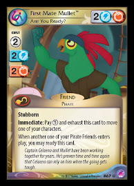 My Little Pony First Mate Mullet, Arrr You Ready Seaquestria and Beyond CCG Card