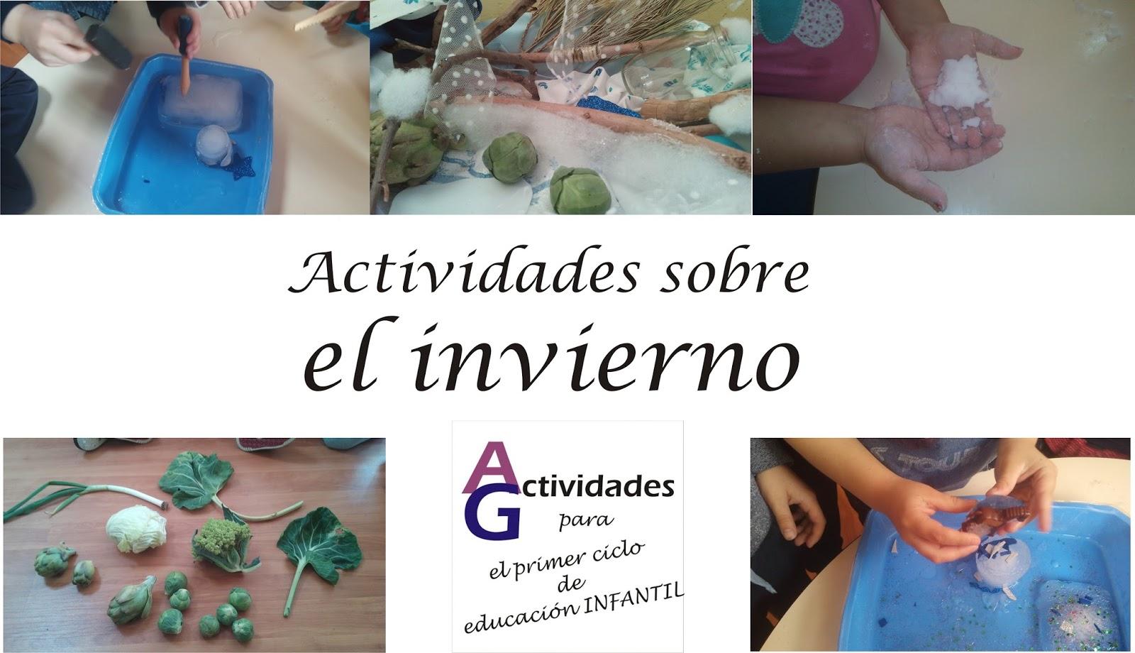 Actividades para el primer ciclo de educaci n infantil - Proyecto el invierno ...