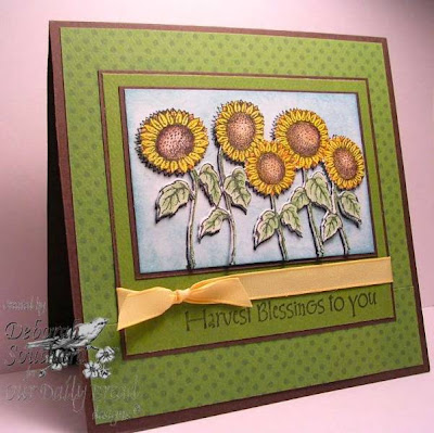 Our Daily Bread designs Harvest Blessings Designer Debi Southard
