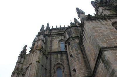 Detalles góticos de la catedral nueva de Plasencia