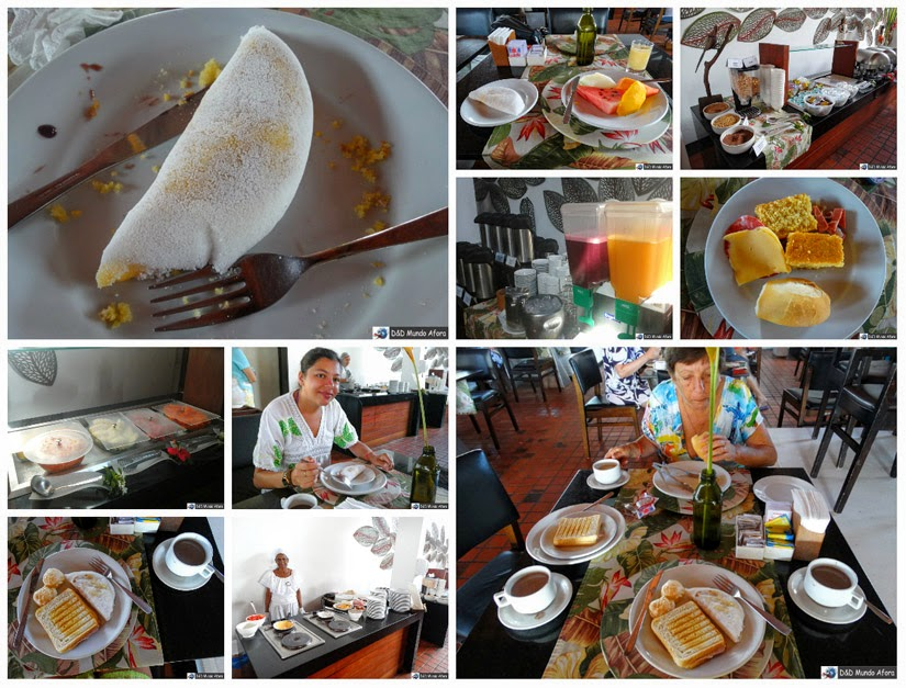 Café da manhã Hotel Village Porto de Galinhas - Pernambuco