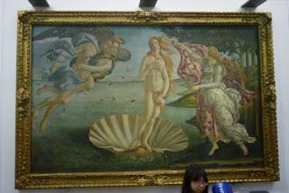 El nacimiento de Venus (1483-1485 ) de Sandro Botticelli.