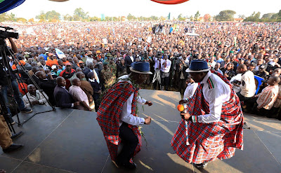 NASA in Eldoret. PHOTO : Courtesy