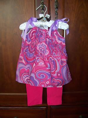 Pillowcase dress | scriptureand.blogspot.com