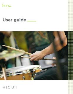 HTC U11 User Guide PDF Manual to Set Up HTC U11