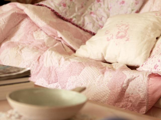 Pink Hexagon Quilt