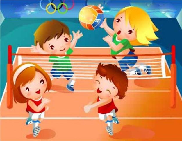 Ampa colegio zaragoza ap ntate a voleibol necesitamos for El gimnasio es un deporte