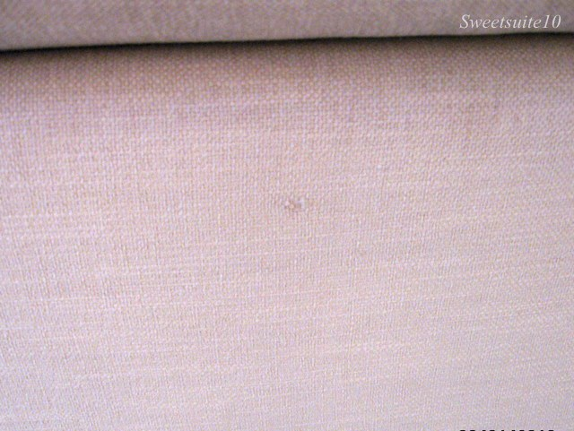 Small hole in sofa upholstery