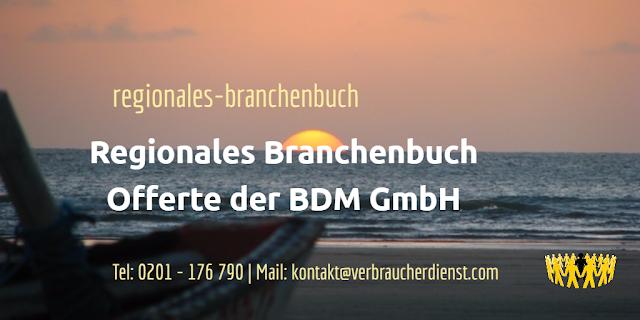 Regionales Branchenbuch   Offerte der BDM GmbH