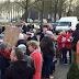 Weer actie tegen windmolens in Veenkoloniën