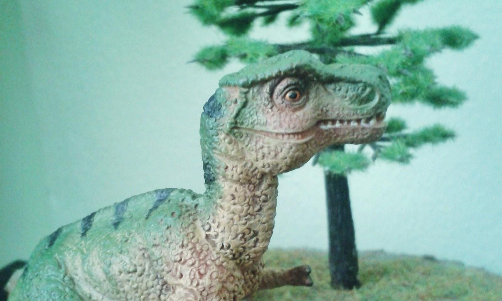 Baby T Rex Figürü Repaint Yeniden Boyama çocukluğa Yolculuk