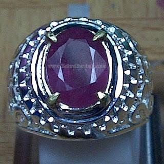 Cincin Batu Permata Ruby - ZP 1040