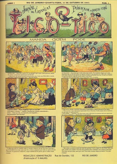 História em Quadrinhos: gênese, estrutura e sociedade