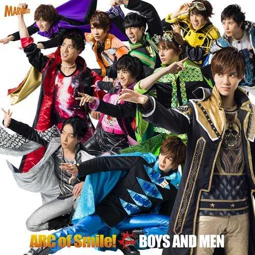 [Single] BOYS AND MEN – ARC of Smile! (2015.01.21/MP3/RAR)