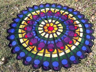szydelkowe dywany