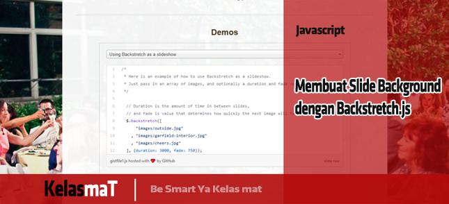 Membuat Slide Background dengan Backstretch.js