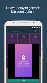 Android Video Gizleme Uygulaması