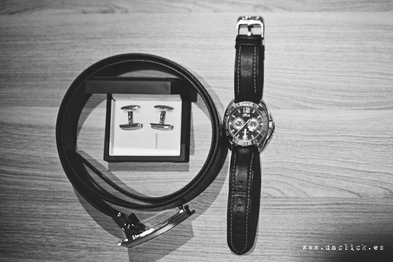 reloj gemelos cinturon