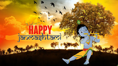 Wish You A Happy Janmashtami 2017 HD Image