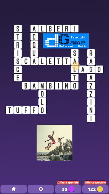 Soluzioni One Clue Crossword livello 19 schemi 3 (Cruciverba illustrato)  | Parole e foto