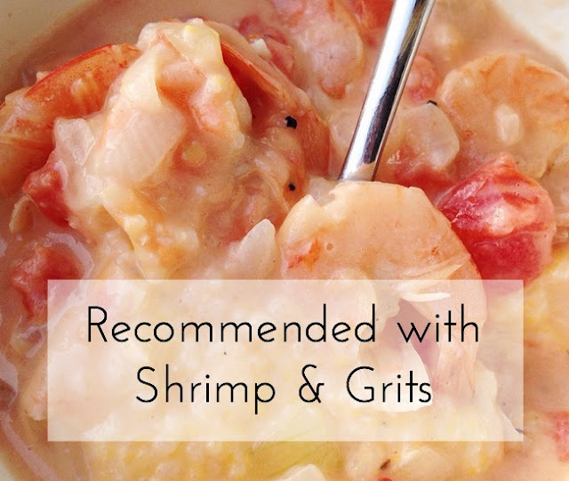 The only recipe I use for shrimp and grits along with favorite links from the week!