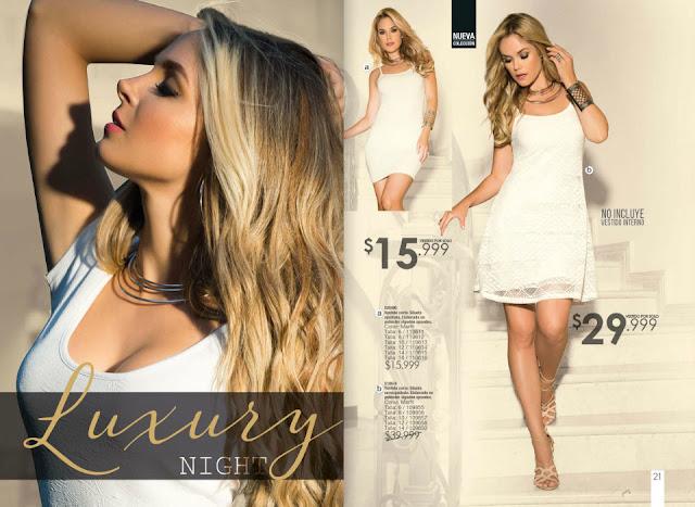 vestidos para las damas blanco
