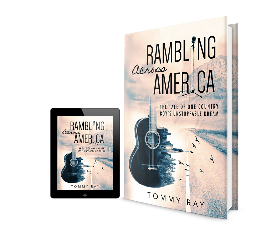 0e78f5d64b27b Rambling Across America / Book Cover Design   JudithS Design ...