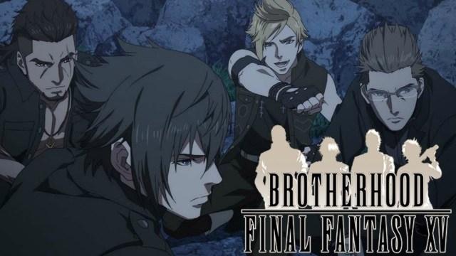 anime yang dibuat dari game final fantasy