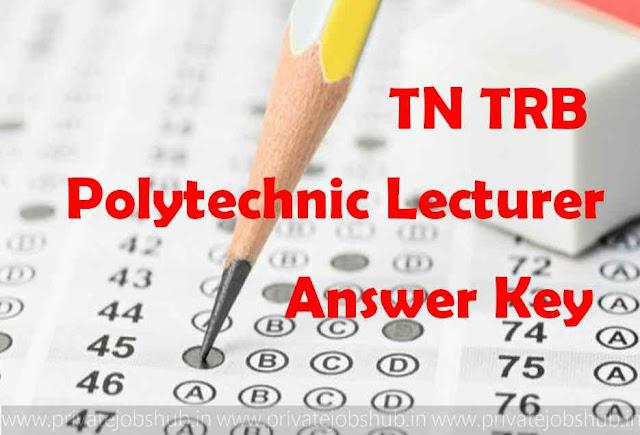TN TRB Answer Key