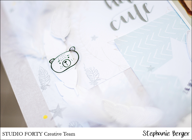 Stephanie Berger - Scrapbooking - Studio Forty - Hello Cute
