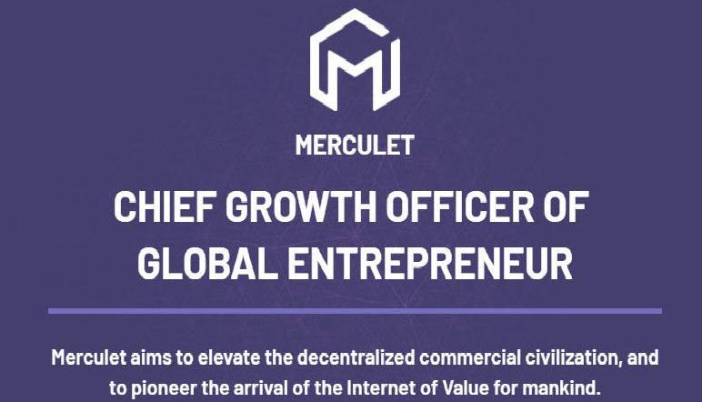 Review ICO MERCULET – Hệ sinh thái phân phối giá trị cho người dùng Internet