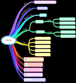 contoh lembar tugas mind mapping materi peta kelas IV sd