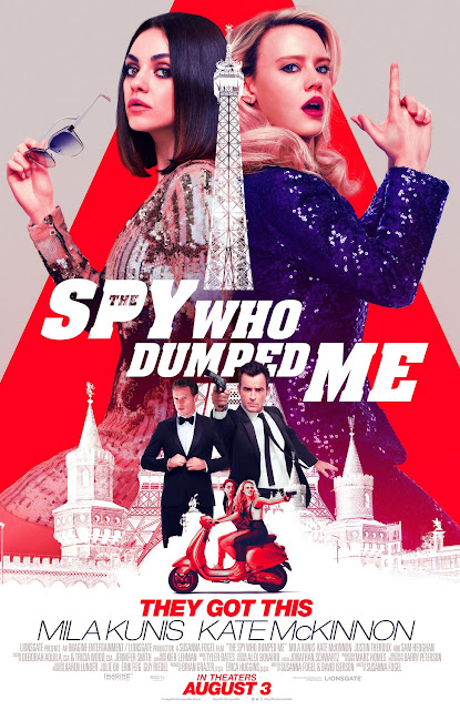 The Spy Who Dumped Me 2018 movie poster