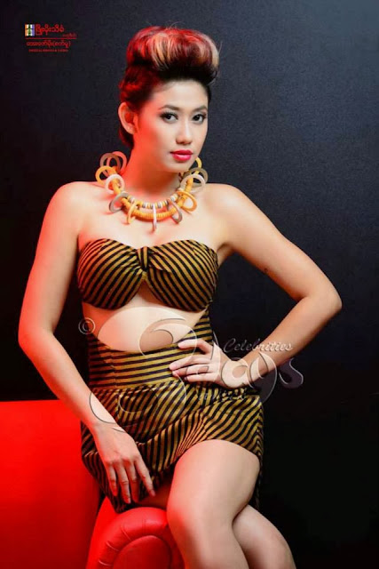 Thinzar Wint Kyaw - Myanmar Model Girls