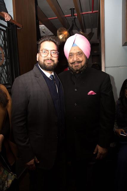 Mr. Manuj M Gupta + Raja Randhir Singh