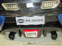 Pliko PK9800 Mag Wheel Battery Toy Car