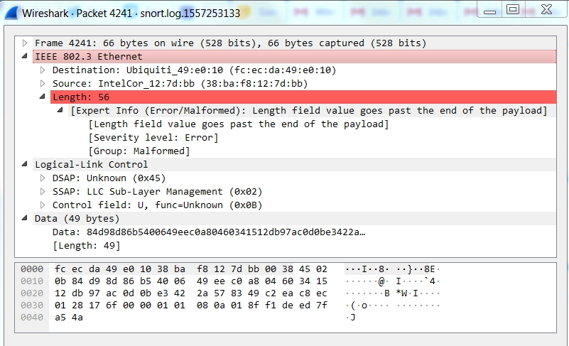 TaoSecurity: Dissecting Weird Packets