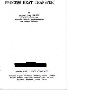 Heat Transfer Heat Transfer Kern