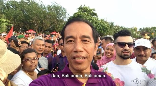 Jokowi Berlibur Di Bali Untuk Pastikan Bali Sudah Aman